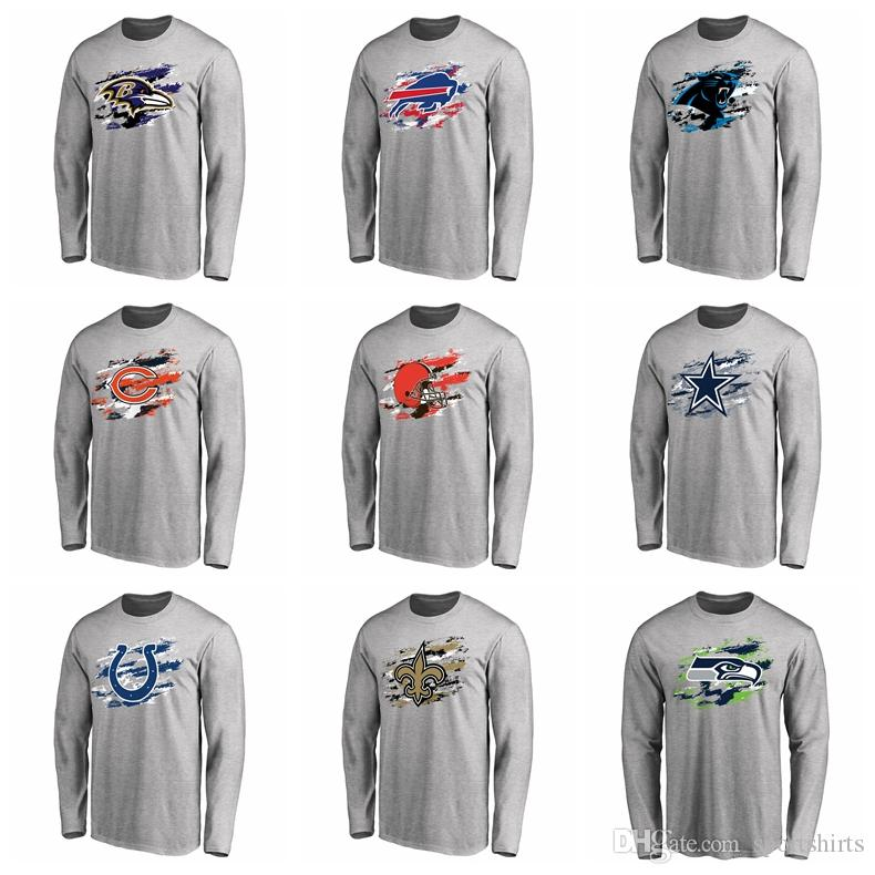 ... Bills Chicago Bears Dallas Cowboys Indianapolis Colts New Orleans  Saints Seahawks Pro Line Ash True Colors Long Sleeve T-Shirt New Shorts New  Hoodies ... da94c948b