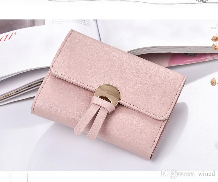 Women's Wallet Fashion Purse PU Leather Clutch Bag Zipper Coin Purse for Girls Lady Card Holder Pockets High Quality Handbags