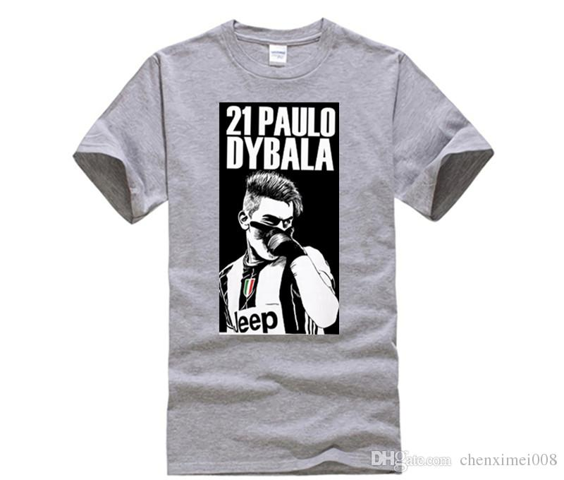 c09d964fd Funny Men T Shirt 2017 Tide Brand Short Sleeve T Shirt Paulo Dybala Serie A La  Joya Argentina Jersey Tees Fun Shirt Designs For T Shirts From  Chenximei008