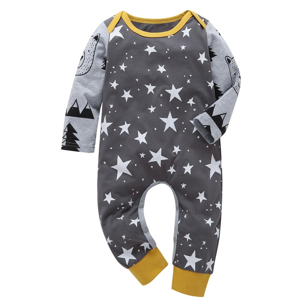 f8f670269 2019 2018 Autumn Baby Boys Clothes Set Long Sleeve Baby Rompers ...