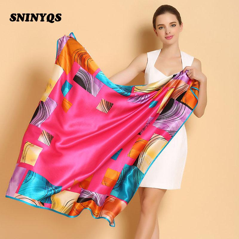 110 Cm Ladies Square Silk Scarves Sexy Scarf Women 100% Silk Shawls And  Scarves Luxury Brand For White Collar Smooth All Match Tying Scarves Scarve  From ... 622073b44f