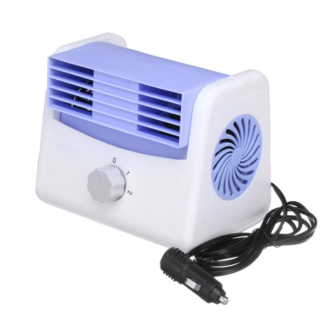 2019 12v 24v Adjustable Quiet Mini Portable Car Cooler Fan