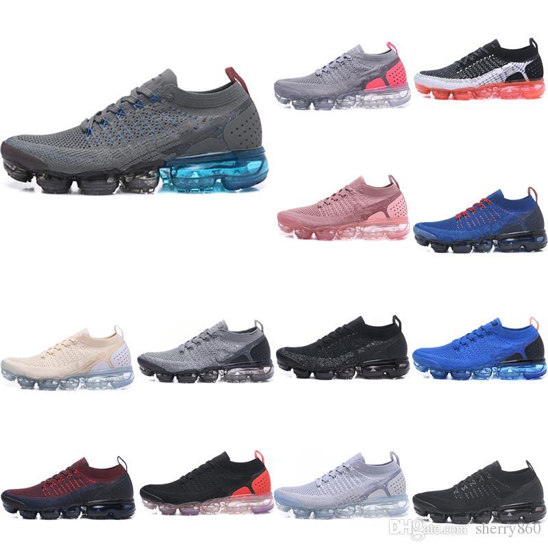 New Vapormax 2.0 Air Cushion Running Shoes Men   Women Vapormax 2018 ... d4a19a354