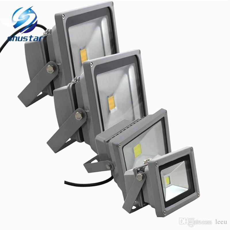 Led Flood Lights Rgb Led Floodlight Spotlight Outdoor Lighting Garden Light 10w 20w 30w 50w 100w Wall Lamp Ac85-265v Ce Ul Outdoor Lighting