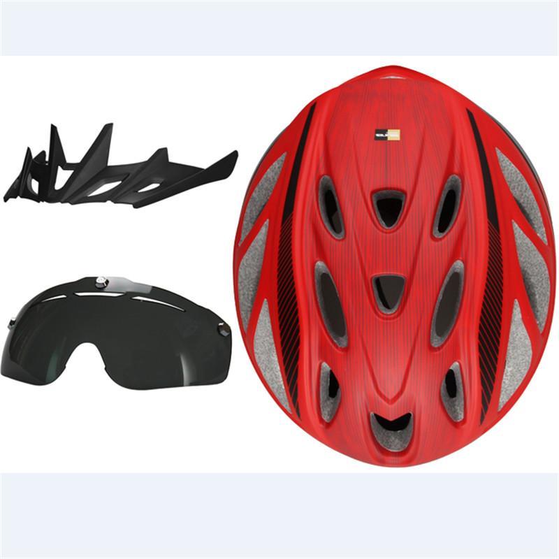 Compre 2016 Gub Mtb Estrada Ciclismo Capacete Homens   Mulheres 20  Respiradouros De Ar Óculos De Bicicleta Capacete De Bicicleta Com Lente  Viseira Ciclismo ... f95f0f2358
