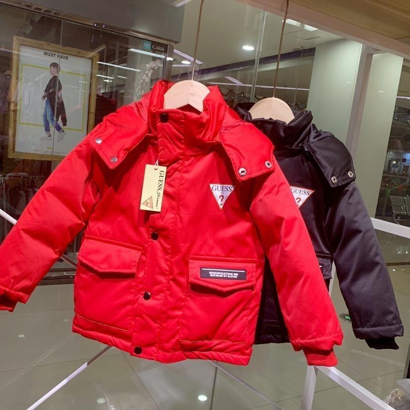 a79379425b0e New Pattern Children Down Jackets Thickening Long Fund Girl Loose ...