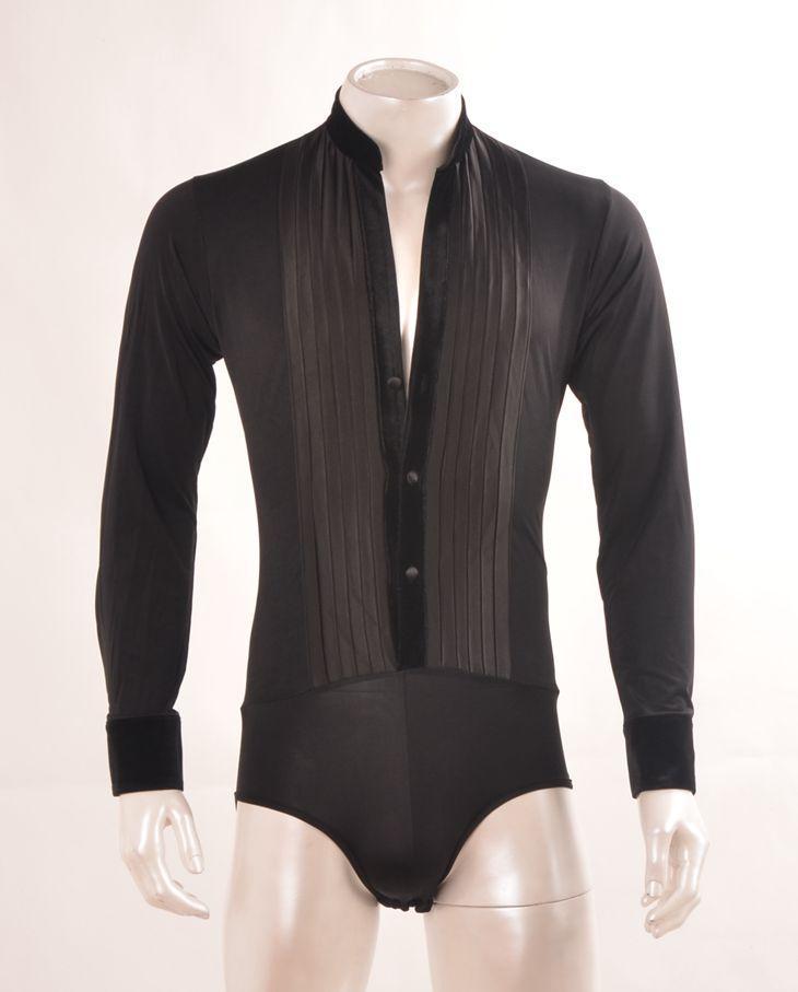 41c2bc542 2019 Mens Ballroom Shirts Latin Dance Top Mens Sexy Performance Dancewear  2017 New Arrival Deep V Neck Standup Collar From Vineger, $102.11    DHgate.Com