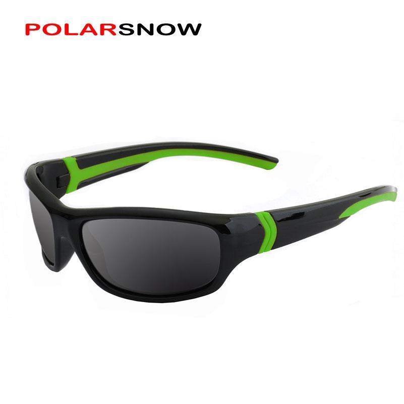 6787d9b84f POLARSNOW Polarized Sunglasses Kids Boys Girls Sport Children Sun ...