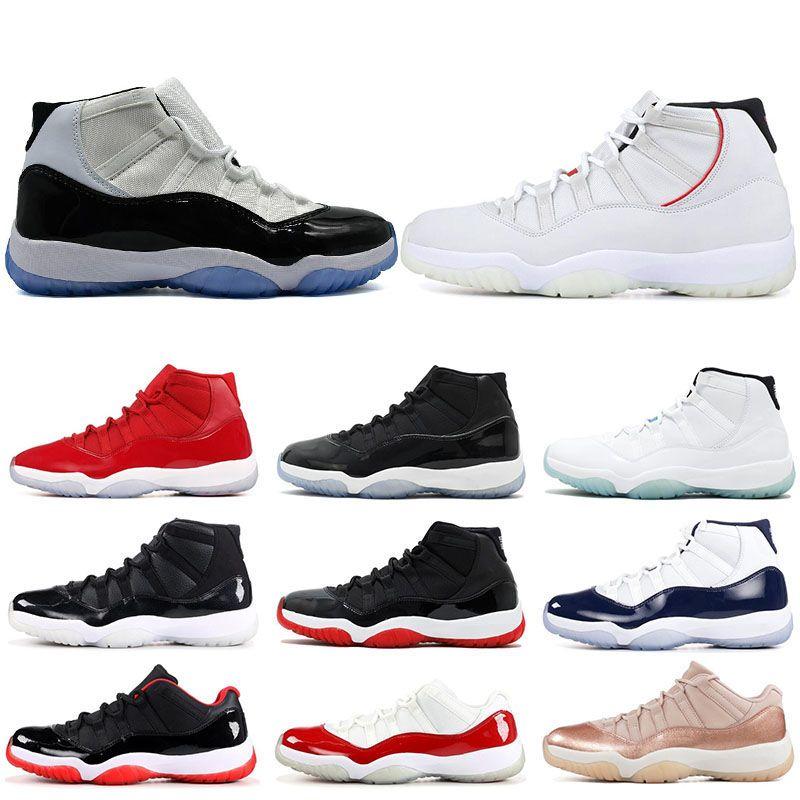f724c2f91e4 11 Platinum Tint Concord 45 Low Barons Men Women Basketball Shoes PRM  Heiress Space Jam Legend Gamma Blue Gym Red Sports Sneaker Discount Shoes  Online ...