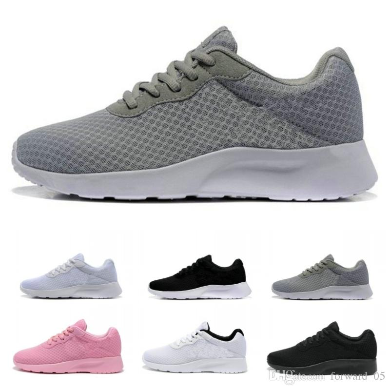 new arrival 0d058 1b074 Zapatos Baratos De Los Hombres Al Por Mayor London Olympic Iii Tanjun  Kaishi Corredores Jogging Sneakers Negro Pink White Mesh Sport Running Shoes  ...