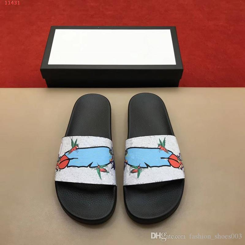 2018 Man Fashion Animals Printing Slippers,Leisure Summer slipeers,original qulity ,picture colors for choose,free shipmen