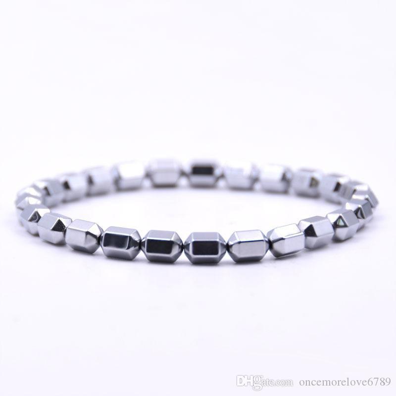 Venda quente New Bohemian Beads Elastic Men Charme Pulseiras para Mulheres Cuff Boho Moda jóias presente