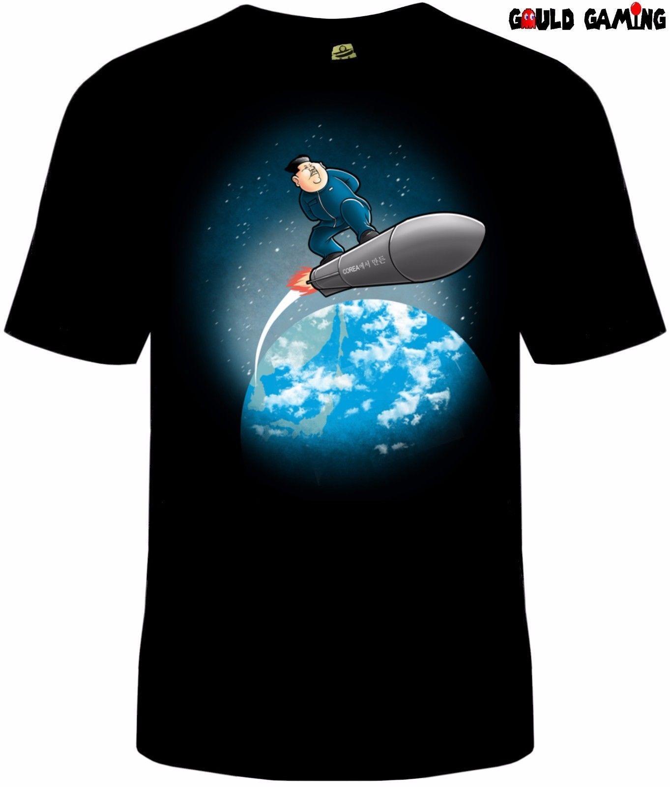 36a61d60 Rocket Man North Korea T Shirt Unisex Adult Funny Pro Trump Political Sizes  New Shopping T Shirts Amusing T Shirts From Notkillape, $11.01| DHgate.Com