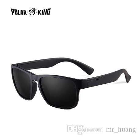 90a601a0c3 POLARKING Brand Polarized Sunglasses For Men Plastic Oculos De Sol Men S  Fashion Square Driving Eyewear Travel Sun Glasses Baseball Sunglasses John  Lennon ...