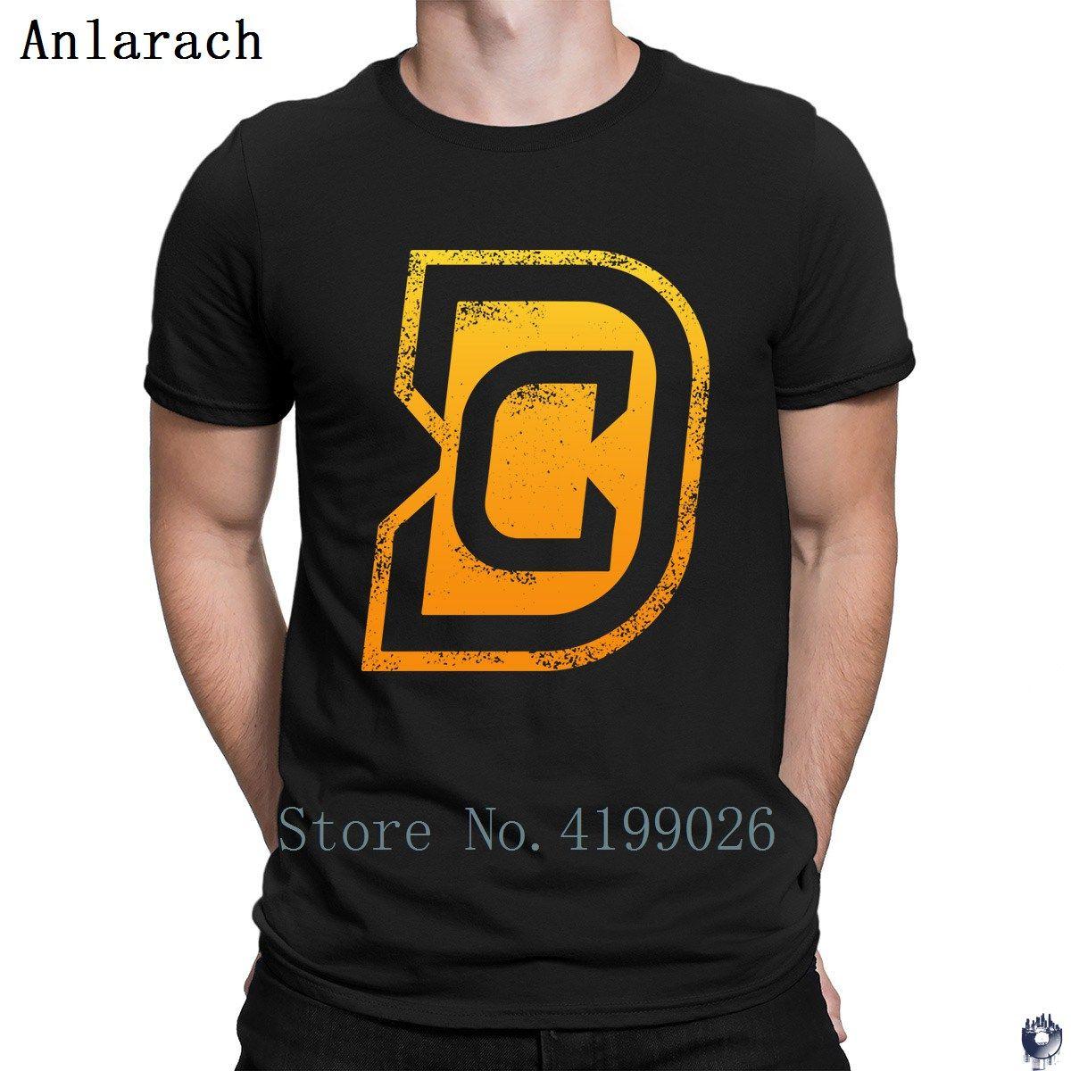 Dc Tshirt Summer Top Round Neck Design Homme Mens Tshirt Classical
