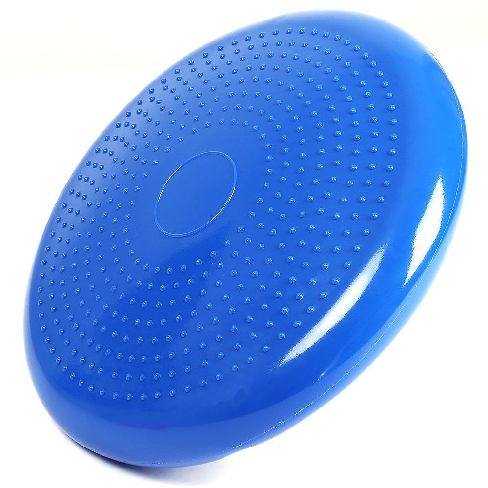 Acheter 33x33cm Gonflable Yoga Massage Ball Durable Universel Sport Gym  Fitness Yoga Wobble Stabilité Balance Disque Massage Coussin Tapis De  19.1  Du ... c8a53633ec1