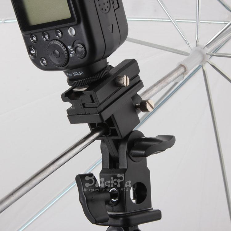 2019 Flash Light Stand Bracket For Camera Shoe Adapter Swivel Umbrella Holder Yn 560 Ii Sb800 Sb900 580ex Photo Studio From Becke