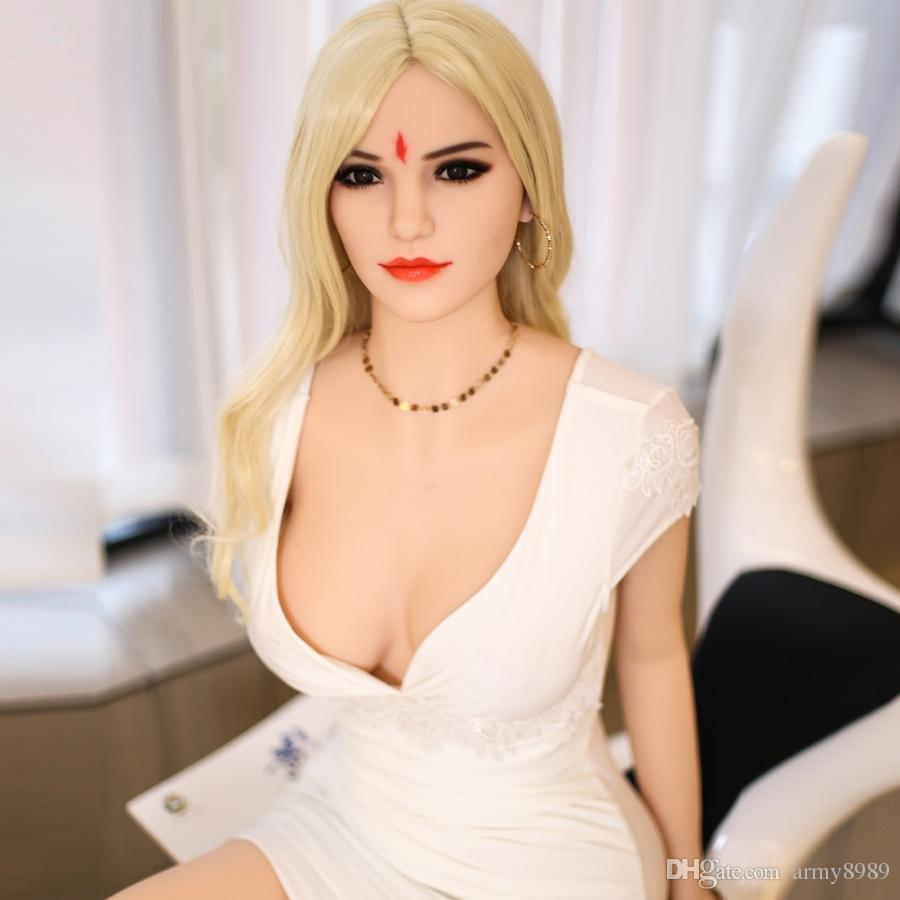 165cm Full Body Sex Love Dolls Realistic Silicone Vagina Adult Sex toys For Men Masturbators real head breast oral Doll