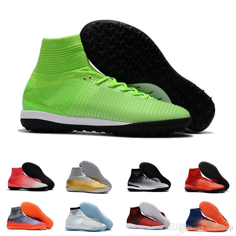 f3bfafe70fcaa 2019 Cheap CR7 Soccer Cleats Mercurial Superfly V SX Neymar TF Indoor Soccer  Shoes Cristiano Ronaldo Football Boots Indoor Shoes From Holdshop, ...