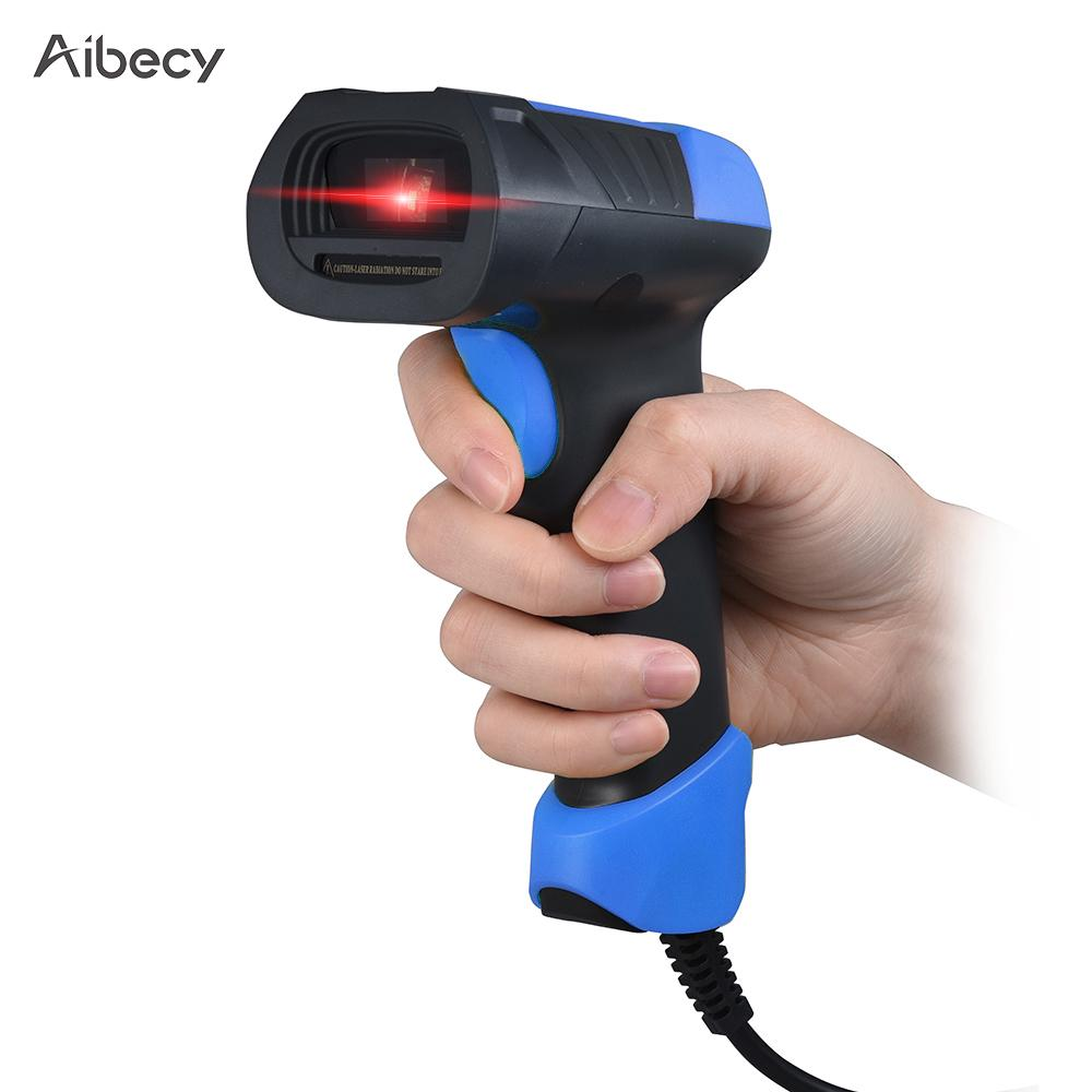 Aibecy A8 Barcode Scanner Barcode Reader Handheld Usb Bar Code
