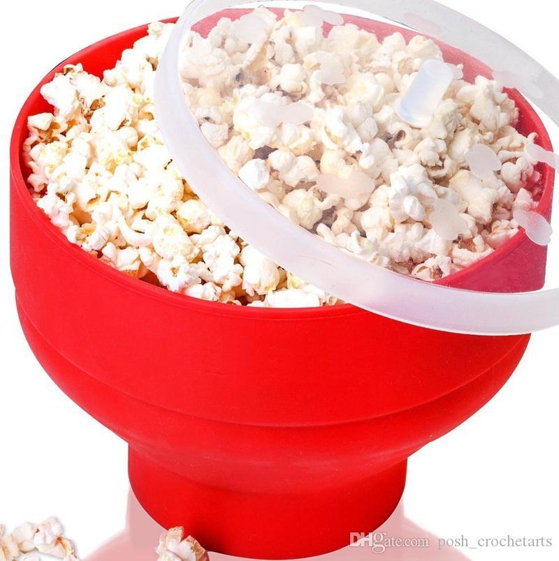 Großhandel Silikon Popcorn Makers Bpa Frei Heimgebrauch Popcorn