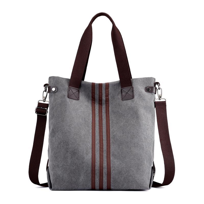 0dd3410b756c 2018 Women Daily Canvas Shoulder Bags Large Size Vintage Travel Bags Famous Designer  Ladies Fashion Big Women Shopping Bag Handbag Wholesale Hobo Purses ...