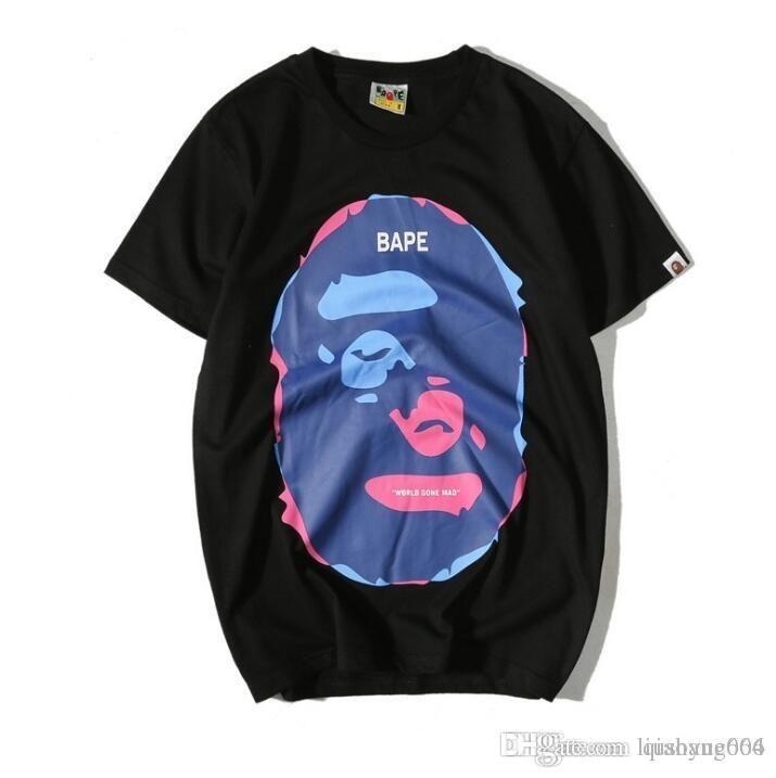 e2880eb72ba0 Fashion Brand Men S Clothing Fake Zipper Printed Short Sleeved T Shirt  Men S Women S Round Collar T Shirt Top Fitted Shirts T Shirt Sale From  Liushang005