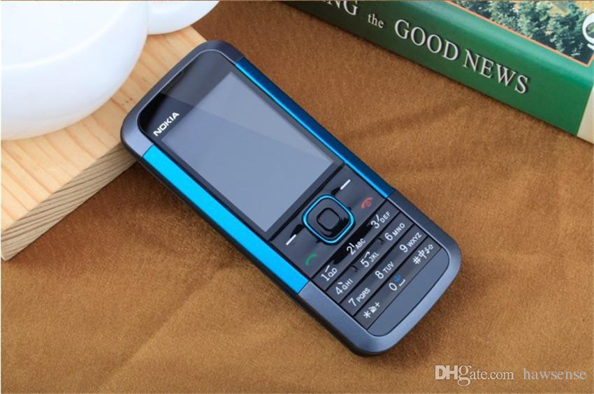 Refurbished Original Nokia 5000 Unlocked GSM 2G Network Bar Mobile Phone 2.0 inch Screen 1.3MP Camera Cheap Phone Free Post