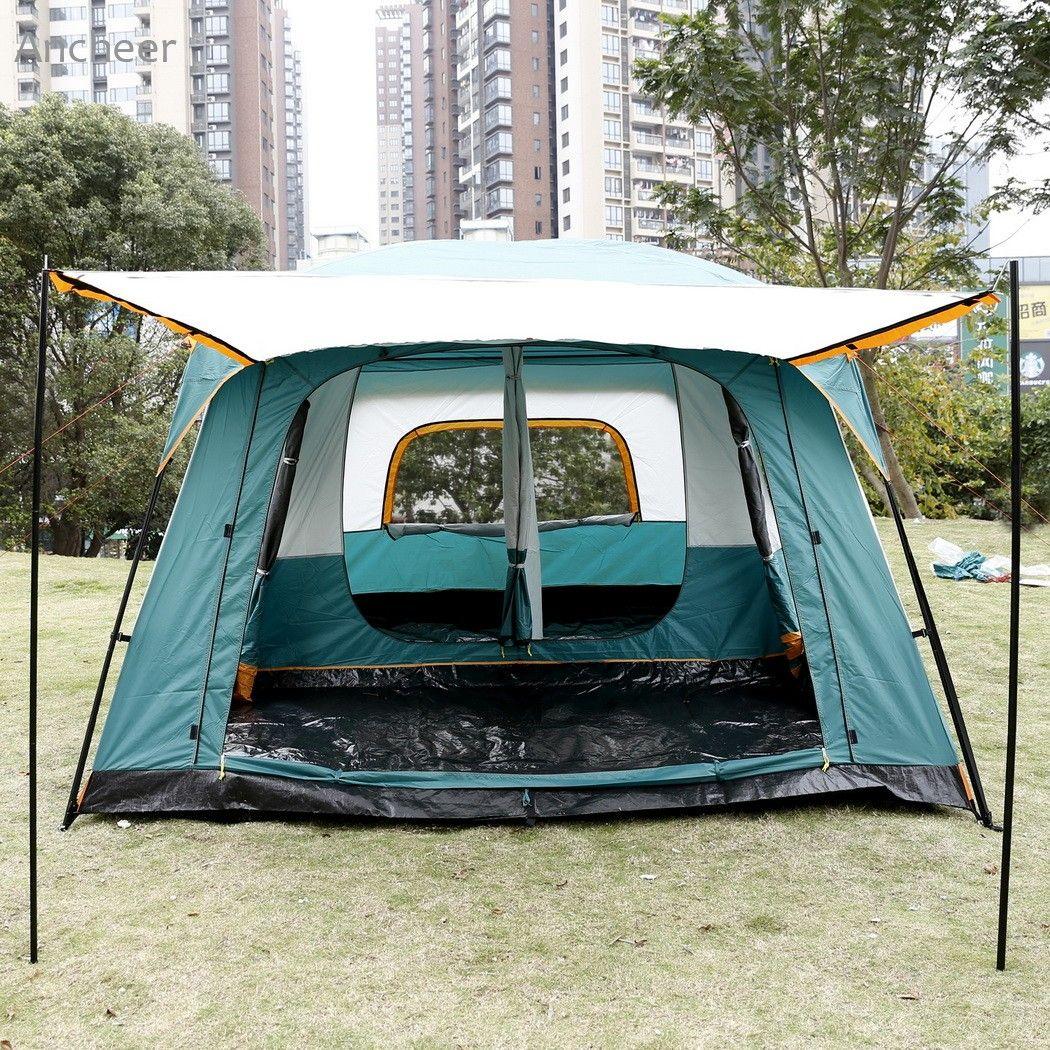 Grosshandel Ancheer Neue Hochwertige Camping Zelt 8 Personen 2