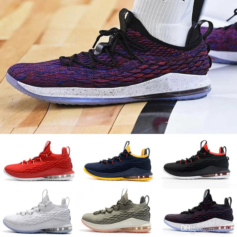 finest selection 218e2 65321 NEW 2018 Cheap  23 XV 15 Low Star Wolf Grey Men S Sports Basketball Shoes  For High Quality Designer 15s Zapatilla Training Sneakers US 40 46 Kids  Sneakers ...