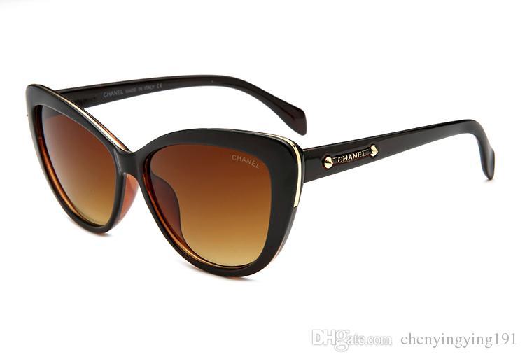 8d6c9f2de3239 Compre Olho De Gato Óculos De Sol De Luxo Da Marca Designer De Mulheres  Óculos De Sol Lente De Revestimento Gafas De Sol Luxo Casuais Óculos De Sol  De ...