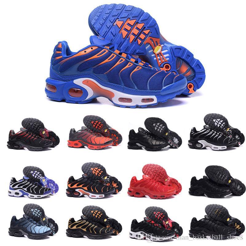 free shipping 4ae60 46bb3 Acquista Nike Air Max TN Offerta Speciale Uomo Scarpe Tn Ultra Nero Bianco  Arancione Scarpe Da Corsa Uomo Donna Outdoor Scarpe Da Ginnastica Maxes  Sneakers ...