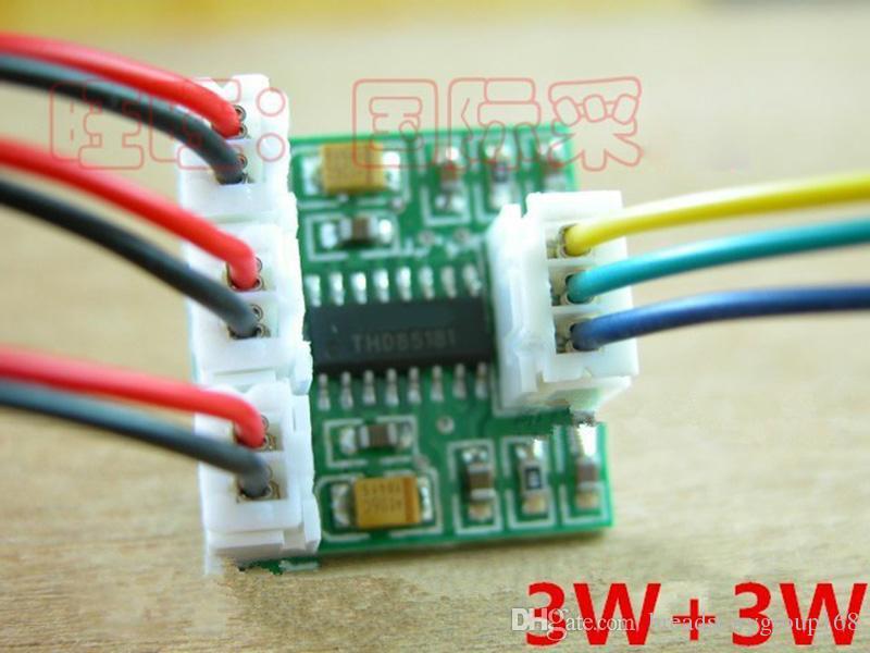 Ultra Mini Two Channel Power Amplifier Modules Miniature Digital 3w+ ...