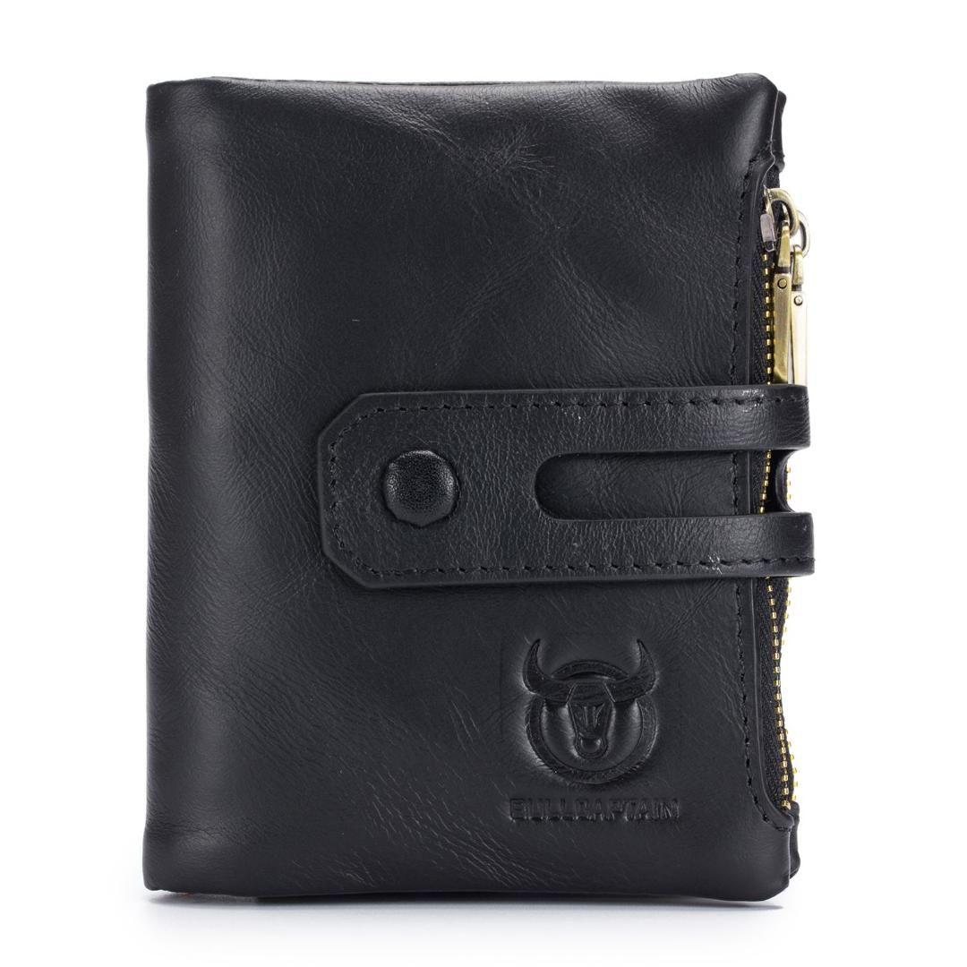 Dcos Bullcaptain Hot Genuine Leather Men Wallets Credit Business ...