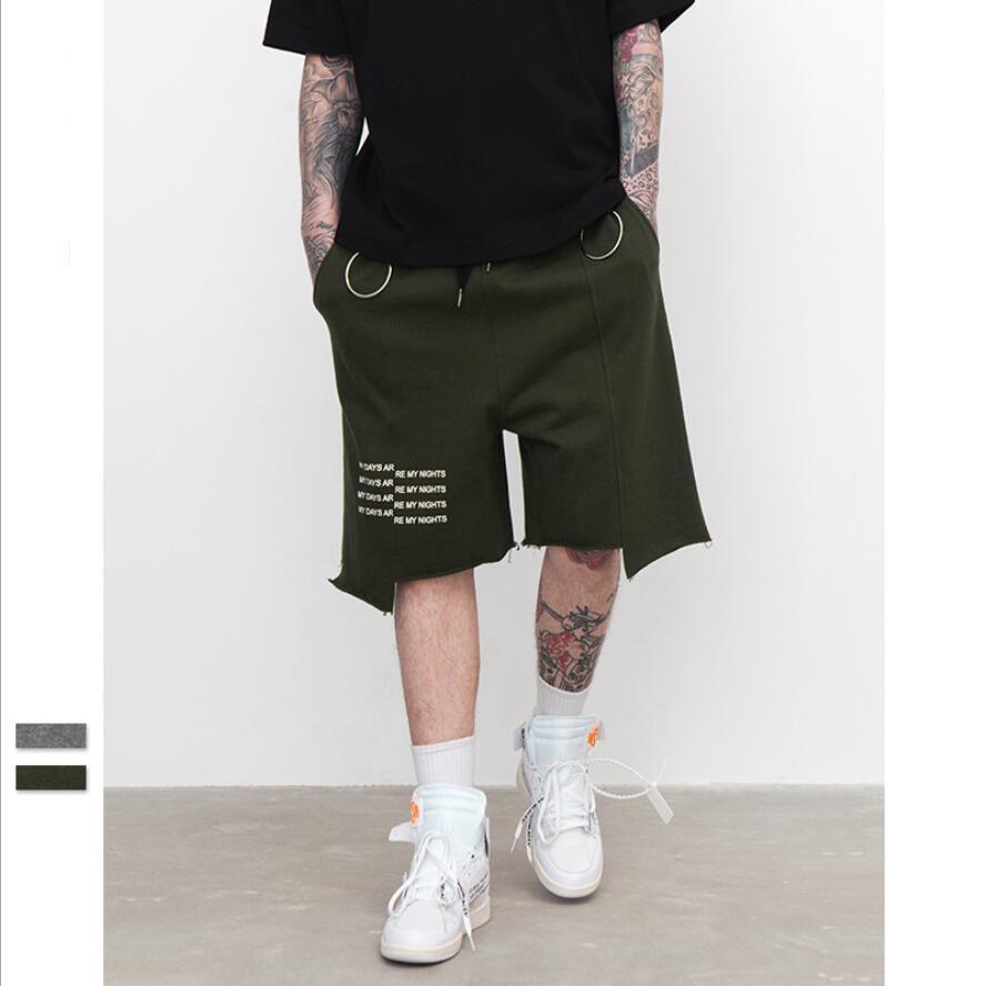 Etapa Moda Hombres Personalidad Pantalones Alta Calle La De Cortos Sueltos 2018 Nuevos Verano Tendencia Del Calidad lF1KJcT