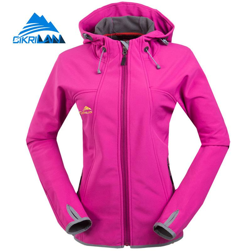 118c7fdbe 2019 2017 Hiking Camping Chaqueta Mujer Outdoor Brand Cikrilan Windstopper  Sport Softshell Jacket Women Climbing Water Resistant Coat 2019 From  Seahawks, ...