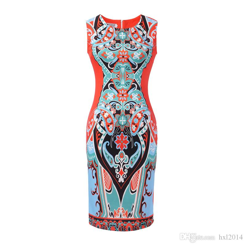 Women's Clothing 2018 summer fashion vintage black plus size Street Style party bodycon dresses pencil dress for womens women clothes #1731