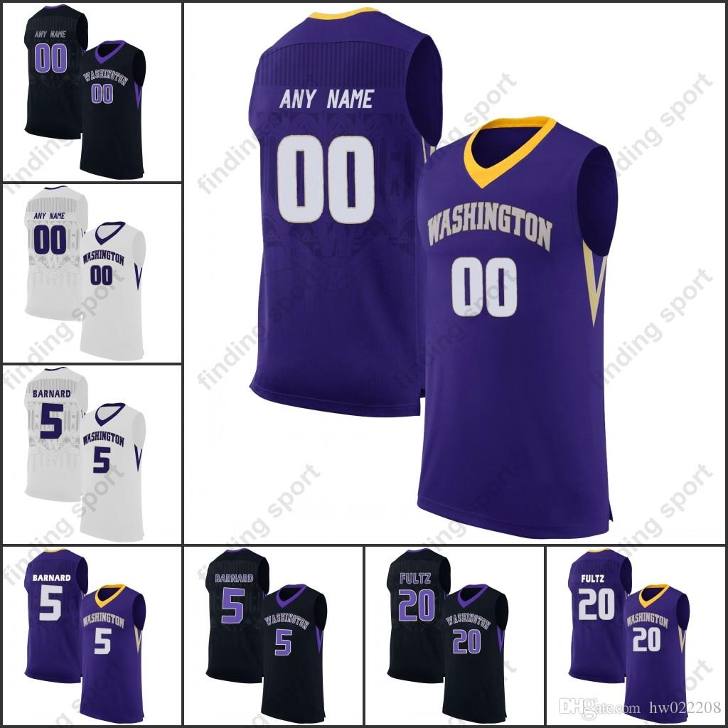 Custom NCAA Washington Huskies College Basketball Any Name Any Number  Markelle Fultz David Crisp Matisse Thybulle Jaylen Nowell Online with   31.96 Piece on ... e3b46a750