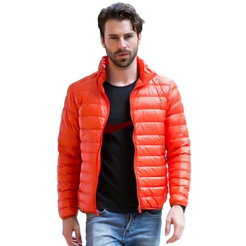 Acquista 2018 Inverno Uomo Ultralight Jacket 90% White Duck Down Jacket Uomo  Piumini Outdoor Winter Uomo Casual JacketCoat A  36.81 Dal Dayup  60cc094ecef