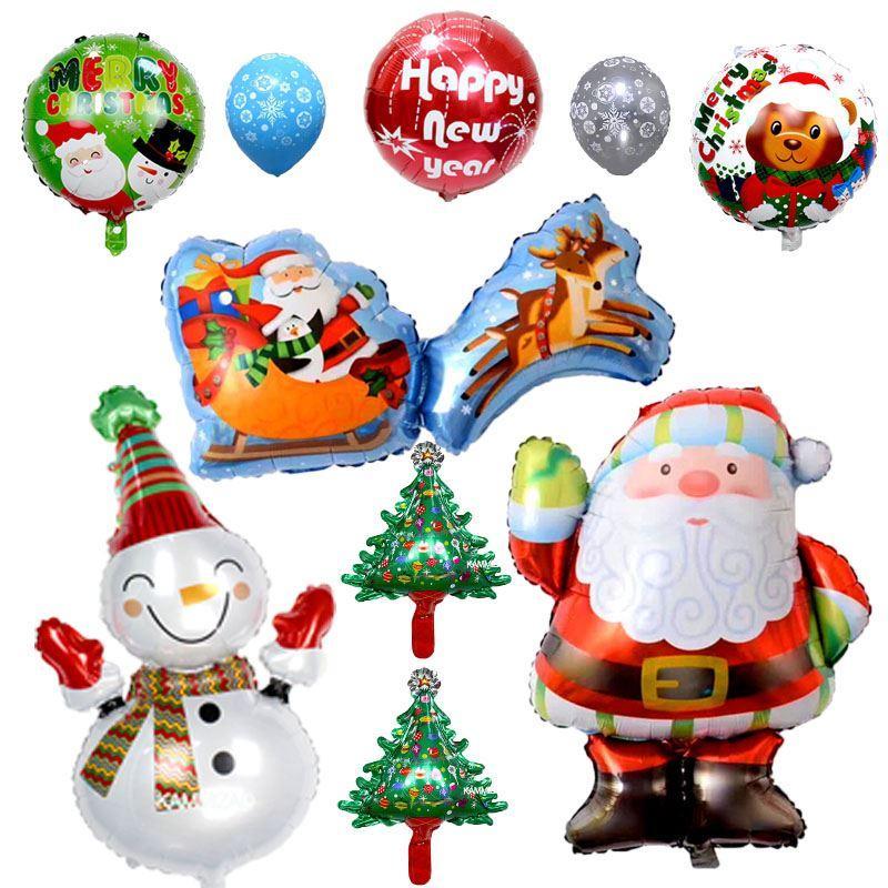 Acheter Kammizad Decoration De Noel Ballons Nouveau Style Nouvel An
