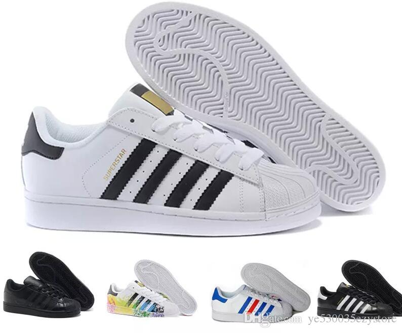 Plates Zapatillas Femmes Hommes Chaussures Superstar Casual 20185 Décontractées Adidas Lovers New Mujer Smith Deportivas Femme bfvyY7g6