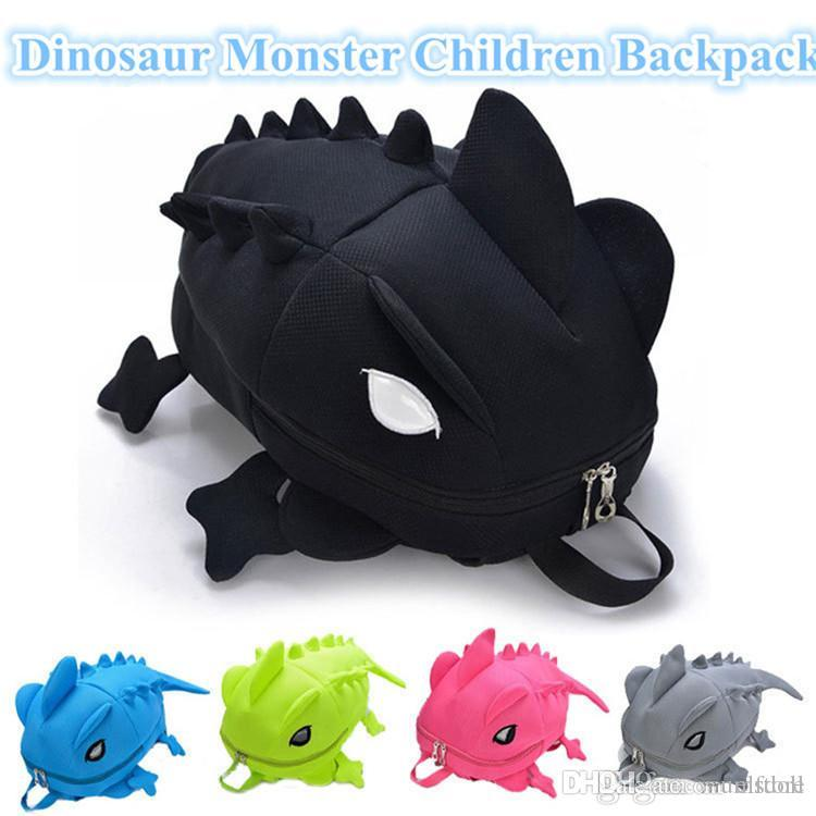 8c8aad313ce5 Designer Chameleon Children Backpacks Dinosaur Monster Backpack For Teenagers  Cartoon Animal Shoulder School Bag Gift For Girl Boy Free Ship Leather ...