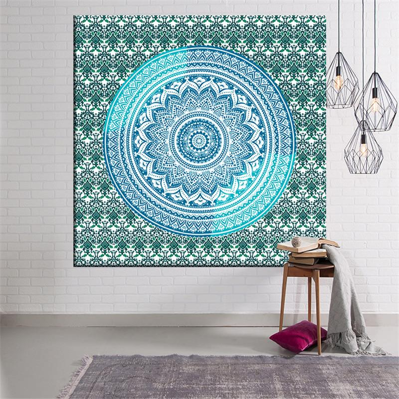 Grosshandel Teppich Fashion Decor Mandala Hangende Tuch Boho Yoga