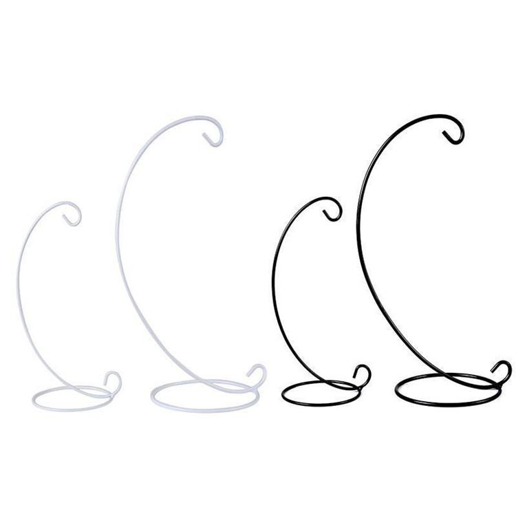 Candle Holder Display Stand Semicircle Half Round Shape Iron Rack ...