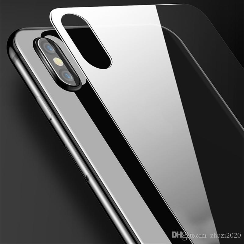 official photos 8f02d 676f7 For iPhone XS MAX XR Back Tempered Glass Ultra Thin 0.3mm 9H Back Screen  Protector for iPhone 5 6 7 8 plus XS MAX No package