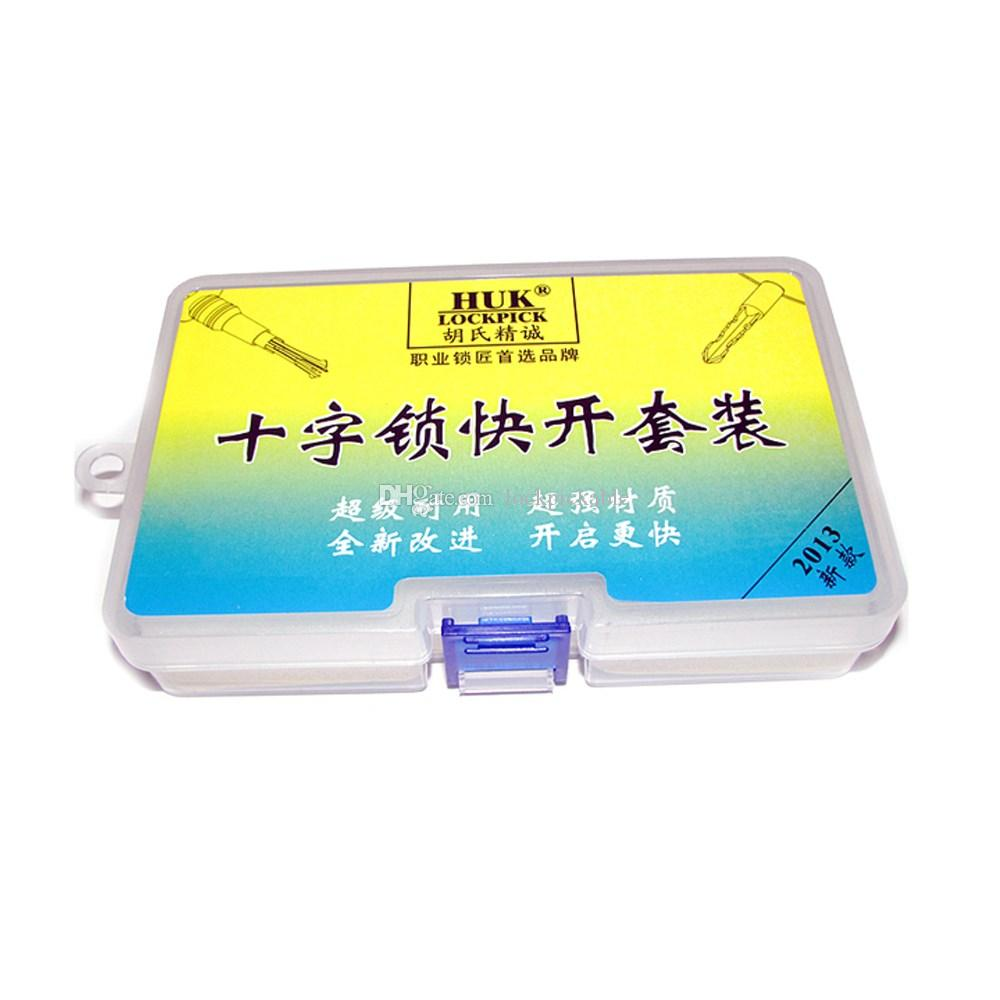 HUK Cross Lock Pick Set 6.0mm، 6.5mm، 7mm - أدوات الأقفال HUK المؤهلة