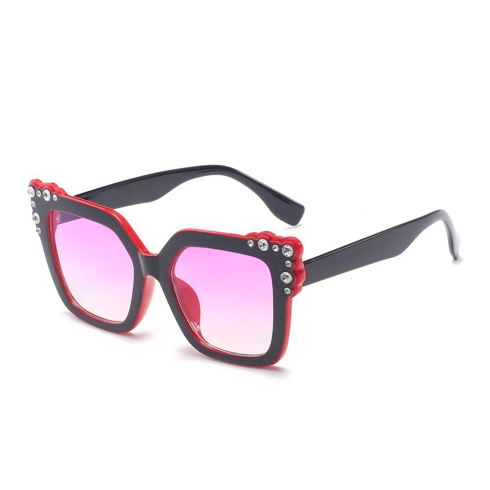024ca771947 2018 New Oversized Square Sunglasses Woman Women Luxury Brand Designer  Gradient Color Sun Glasses Female Vintage Shades Eyewear Online with   14.86 Piece on ...