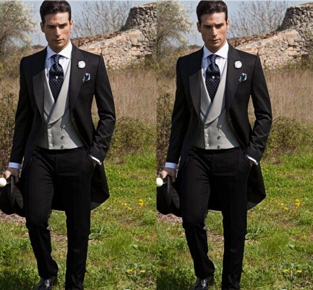 Fit Hombre Suits Compre Trajes Slim Traje Groom Rural Estilo De YPqxxt5Z