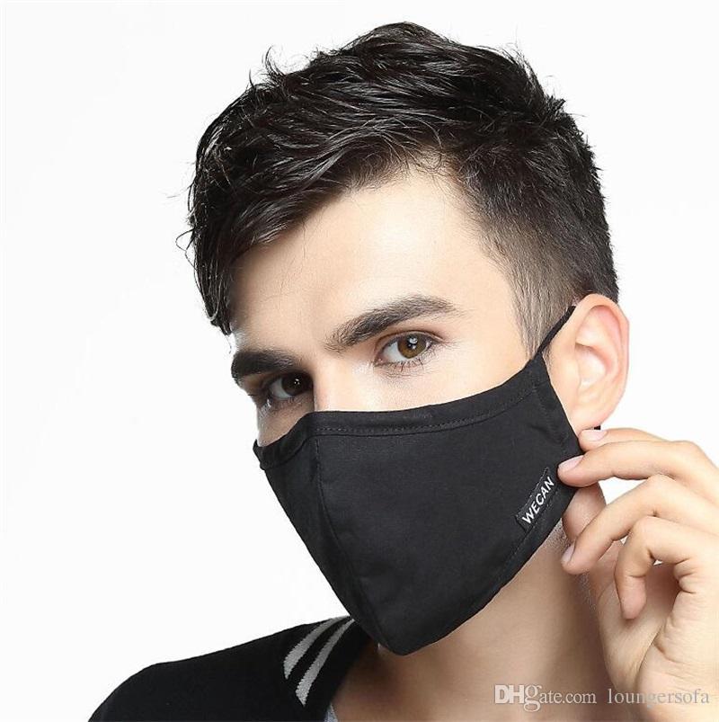 100 Masque Poussi�re Anti Garder Haze Bouche Charbon 5 Moiti� De Tissu V Acheter Chaud 58wn Prot�ger 6 Actif Coton Ventilation Au Pm2