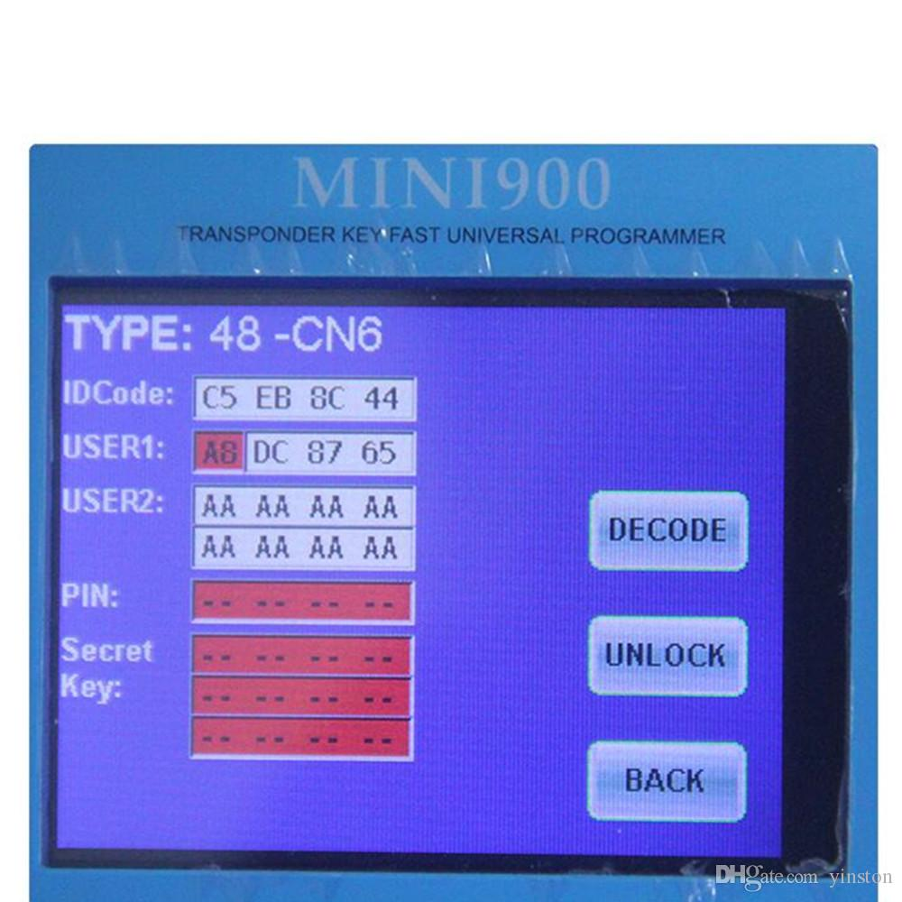 Wholesale CN6 Car Key Chip CN6 Chip Copy ID48 Auto Transponder Chip Used for CN900 and ND900